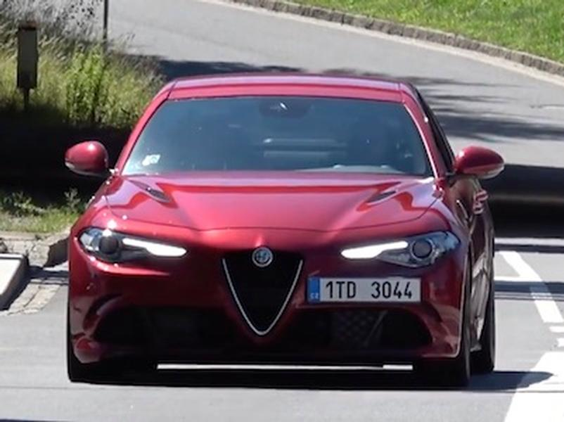 Video test Alfa Romeo Giulia QV