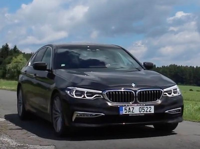 Video test BMW 530d