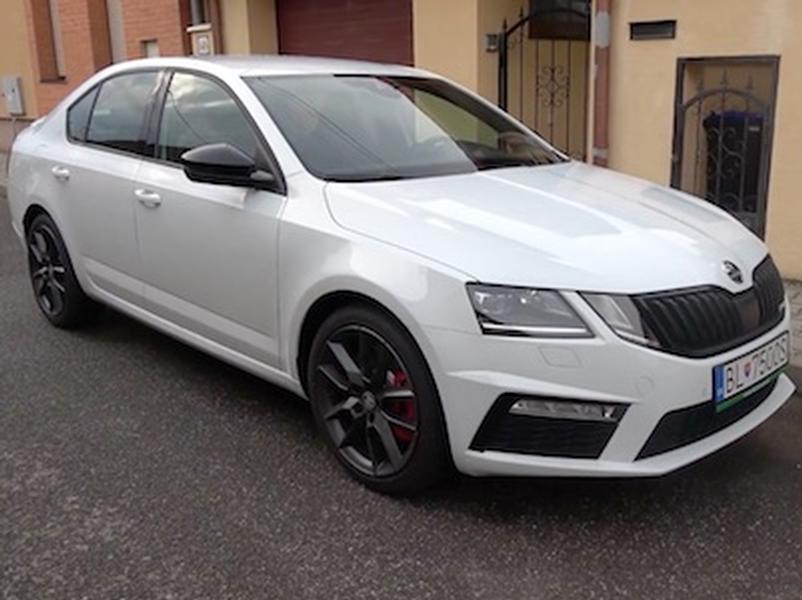 Test Škoda Octavia RS
