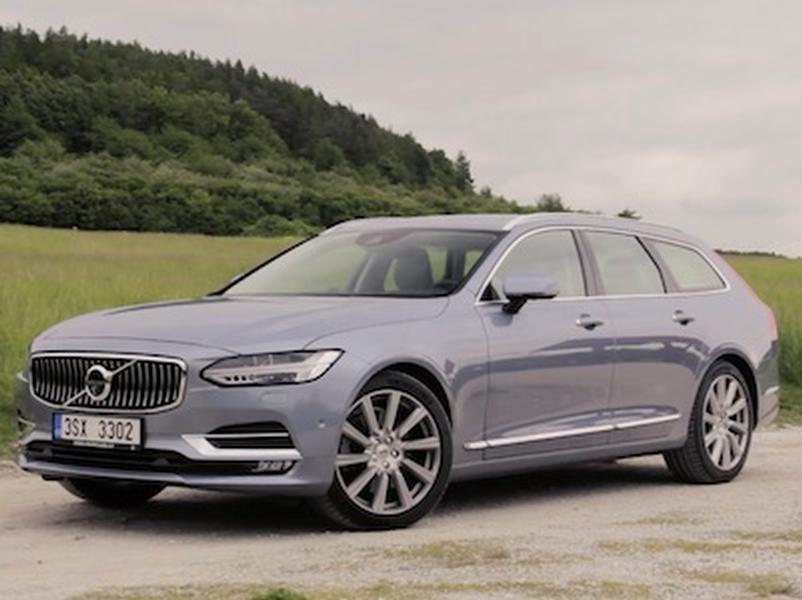 Video test Volvo V90