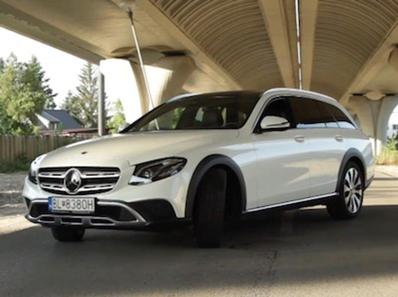 Video test Mercedes E All-Terrain
