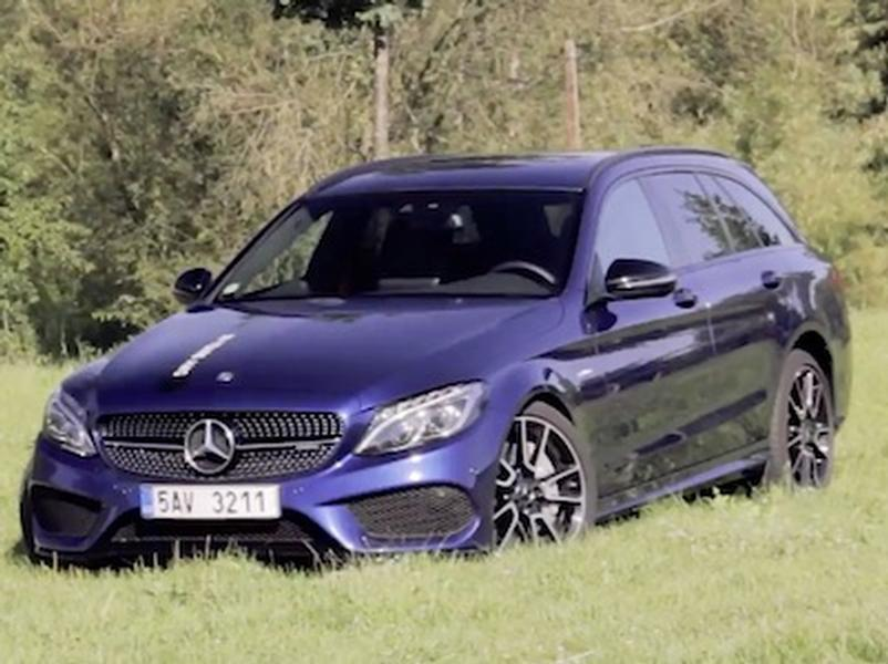 Video test Mercedes-Benz C43 AMG