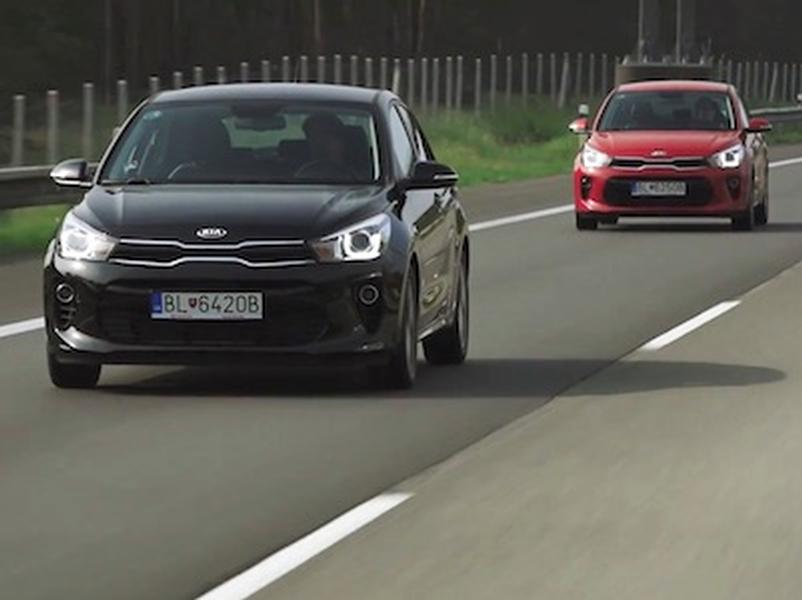 Video test KIA RIO 1.0 T-GDi vs 1.4 CVVT