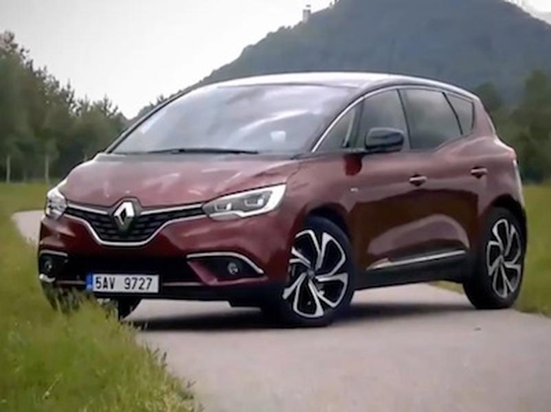 Video test Renault Scénic Energy dCi 160
