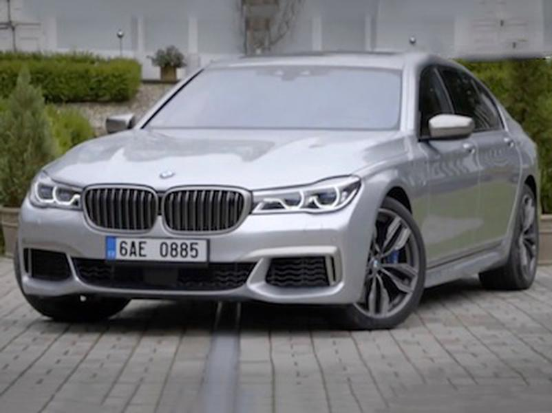 Video test BMW M760Li xDrive