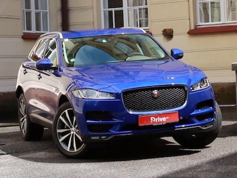 Test Jaguar F-Pace