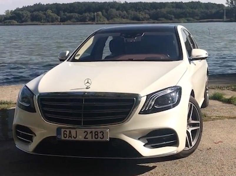 Video test Mercedes-Benz S 400 D 4Matic