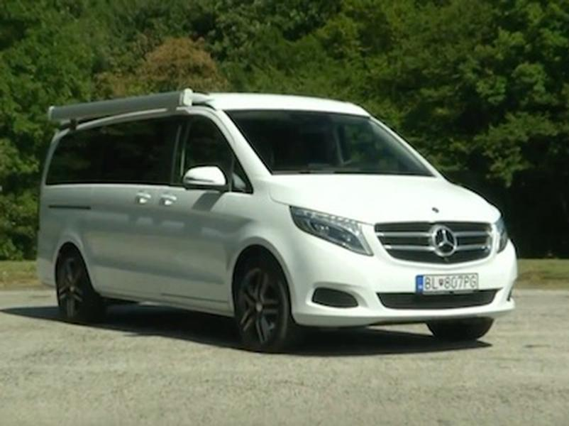 Video test Mercedes Benz V250d Marco Polo
