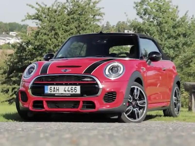 Video test Mini John Cooper Works Cabrio