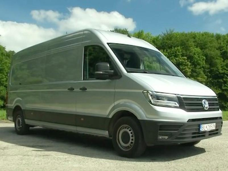 Video test Volkswagen Crafter 2.0 BITDI