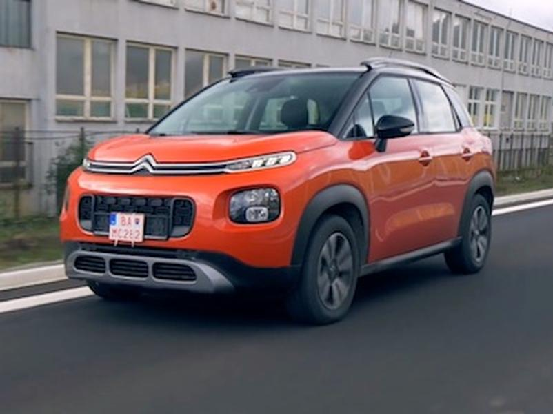 Video test Citroen C3 Aircross 1,2 l PureTech