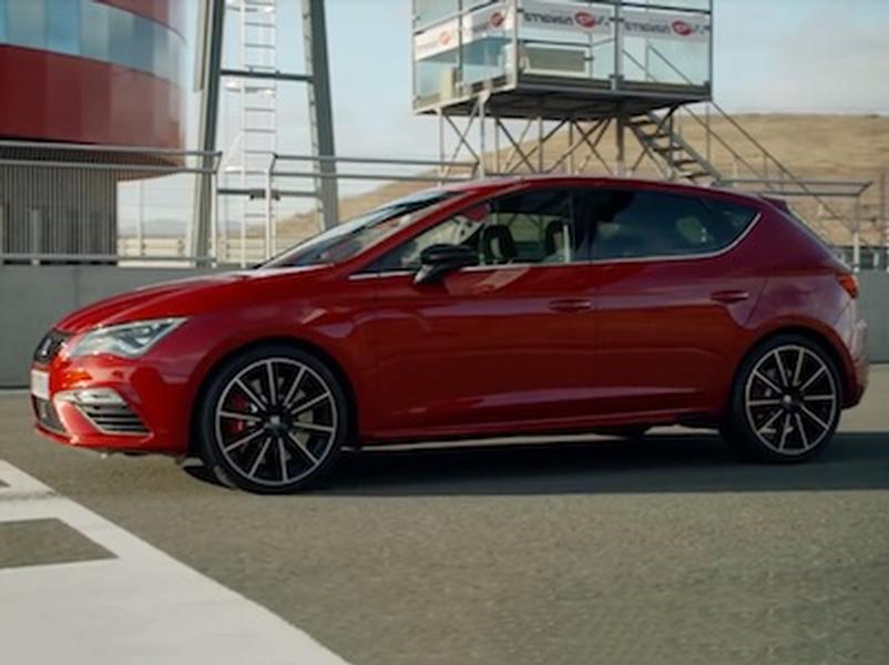 Video test Seat Leon Cupra 300 ST 4Drive