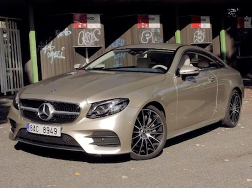Video test Mercedes-Benz E300 Coupe