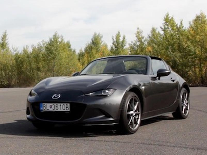 Video test Mazda MX-5 RF