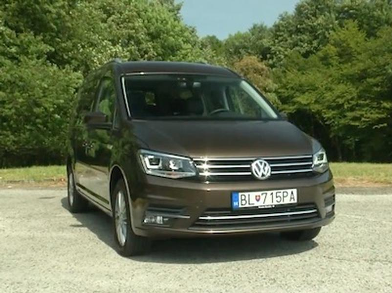 Video test Volkswagen Caddy Maxi 2.0 TDI