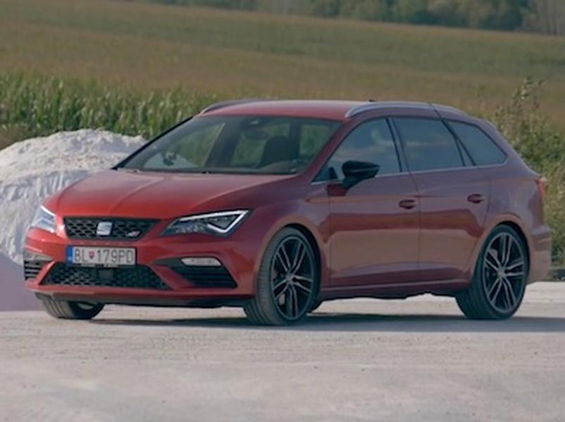 Video test Seat Leon ST Cupra300 4Drive
