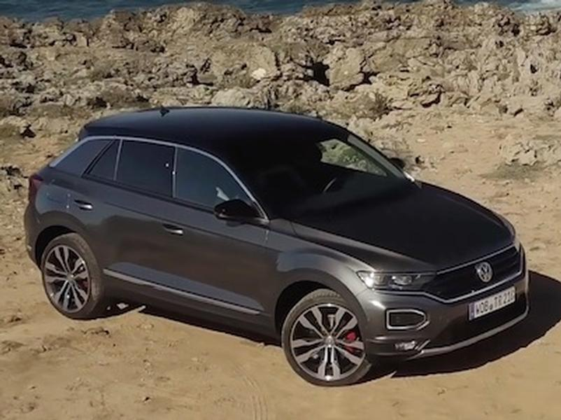 Video test Volkswagen T-Roc 2.0 TSI