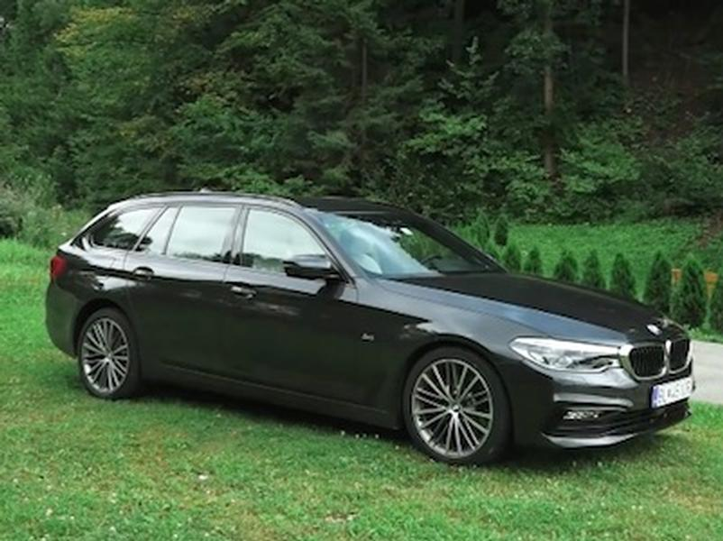Video test BMW 530d xDrive Touring