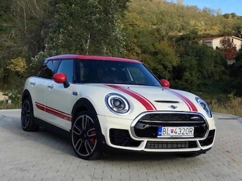 Video test MINI Clubman John Cooper Works