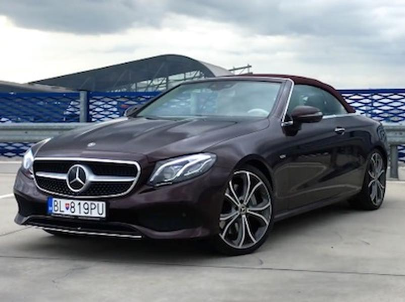 Test Mercedes-Benz E400 Cabrio