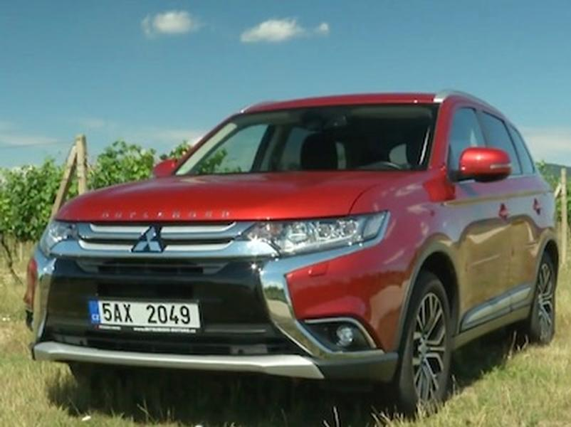 Video test Mitsubishi Outlander 2.0i 4WD