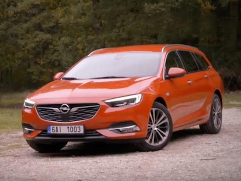 Video test Opel Insignia Tourer 1.5 Turbo