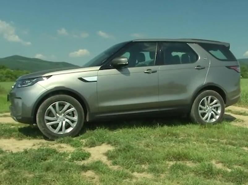 Video test Land Rover Discovery 2.0D SD4