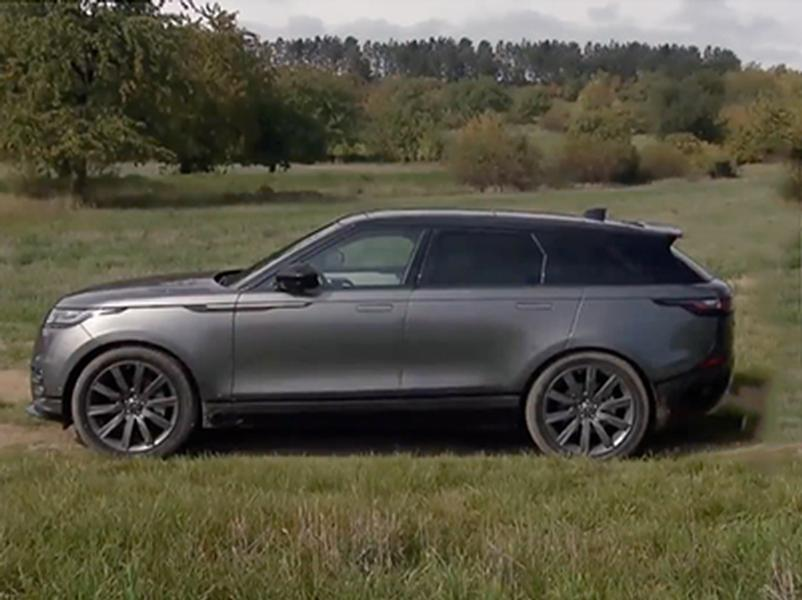 Video test Range Rover Velar D300
