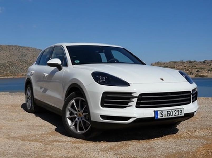 Video test Porsche Cayenne S