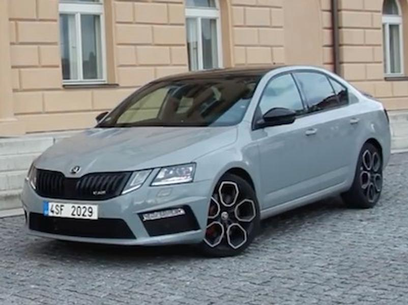 Video test Škoda Octavia RS 245