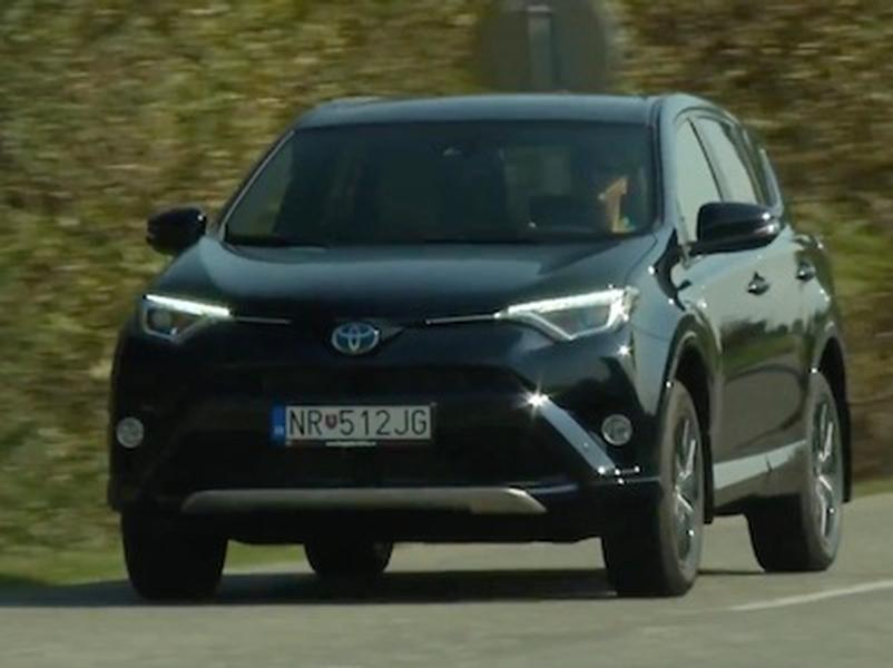 Video test Toyota RAV 4 Hybrid