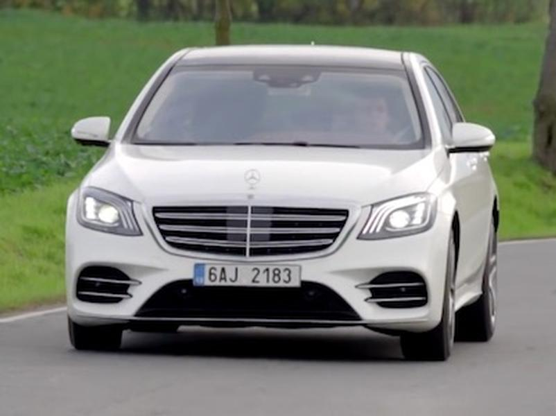 Video test Mercedes-Benz S 400d 4MATIC