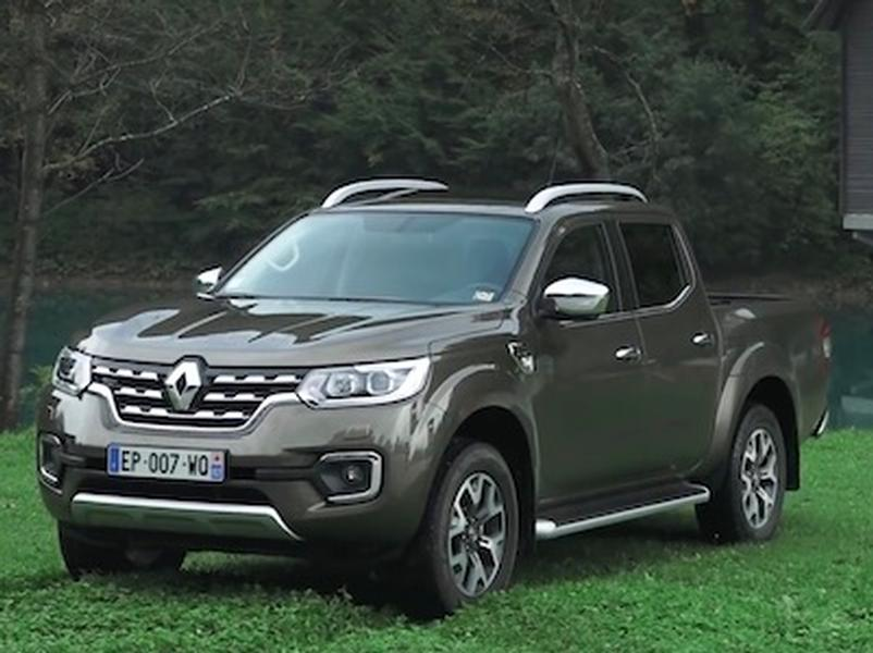 Video test Renault Alaskan 2.3dCi