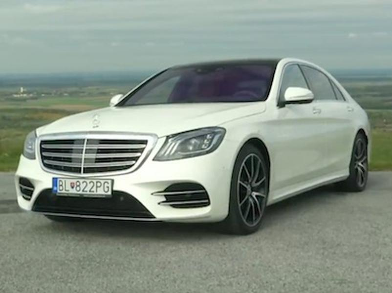 Video test Mercedes Benz S400d 4-Matic