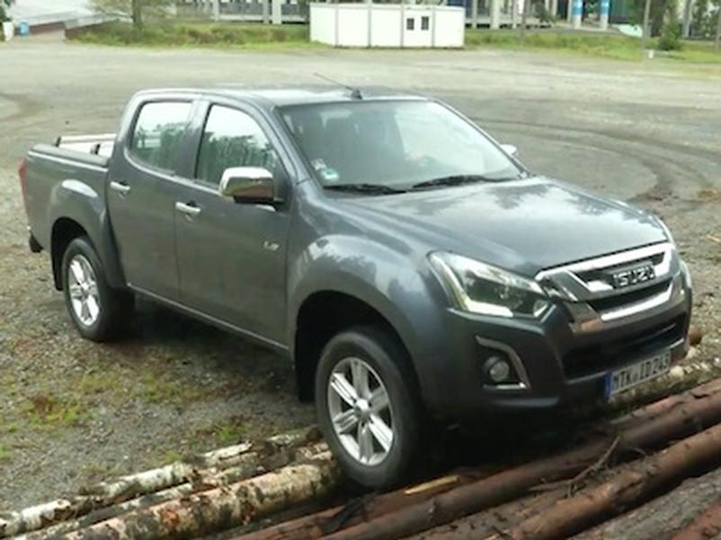 Video test Isuzu D-Max