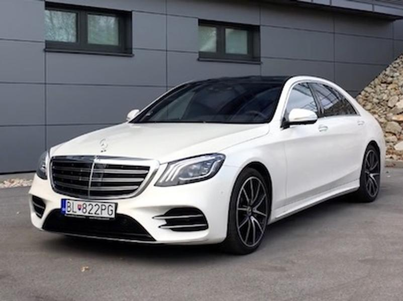 Video test Mercedes-Benz S400d 4Matic Long