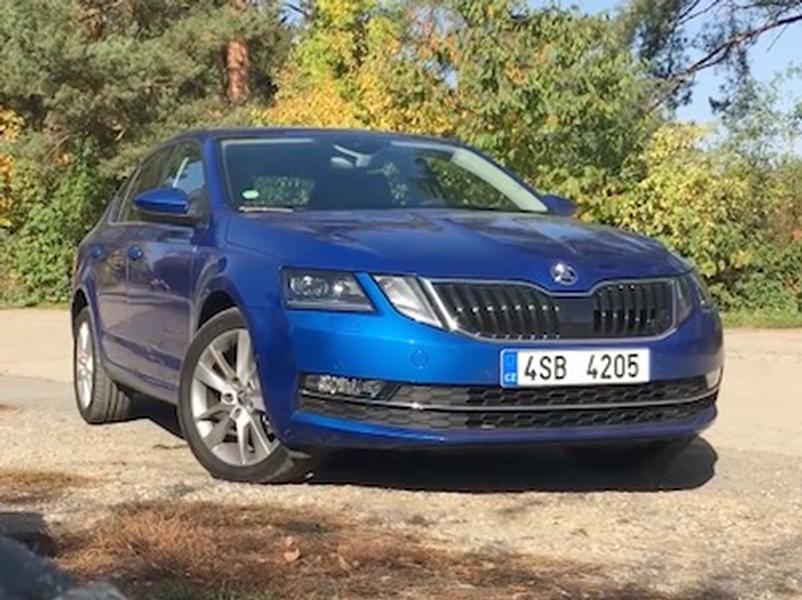 Video test Škoda Octavia G-TEC