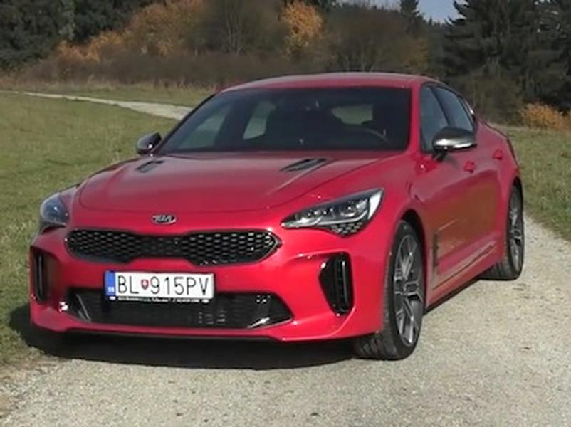 Video test Kia Stinger 3.3 T-GDi V6