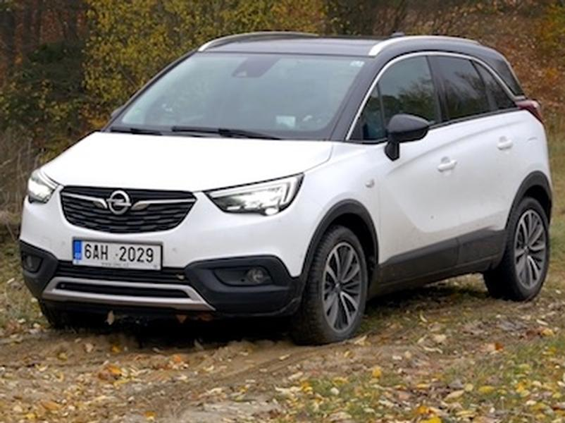 Video test Opel Crossland X 1.6 CDTI