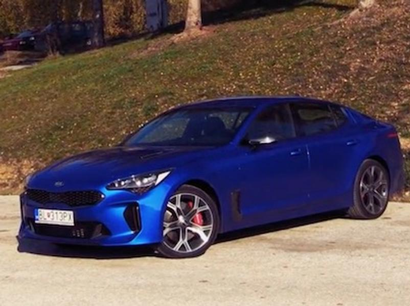 Video test KIA Stinger 3.3 V6