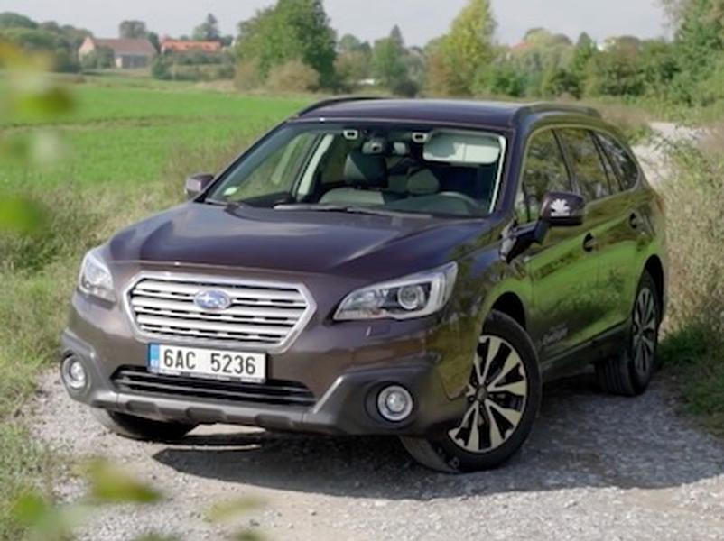 Video test Subaru Outback 2.5i