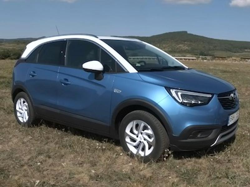 Video test Opel Crossland X 1.2 Turbo