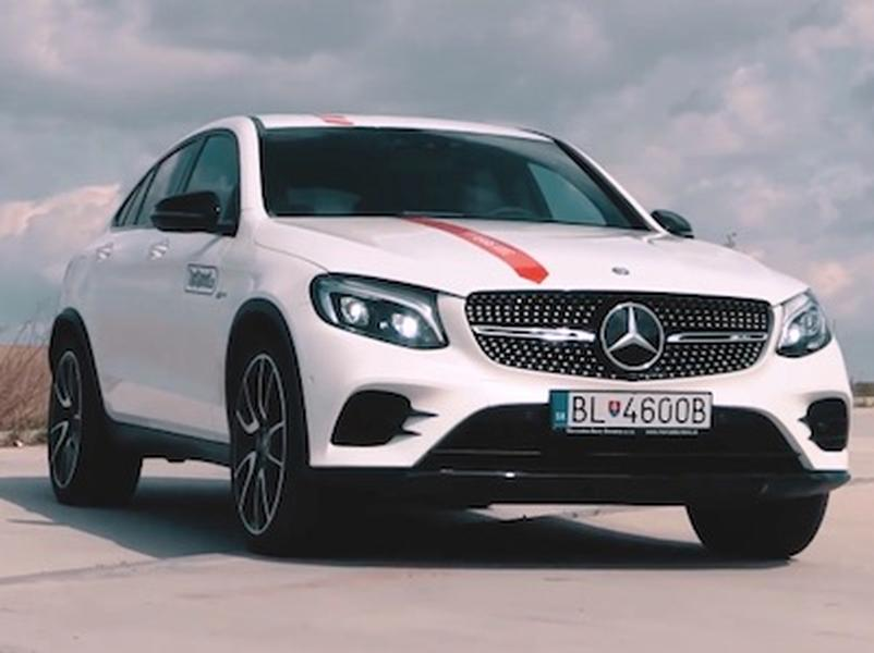 Video test Mercedes GLC43 AMG