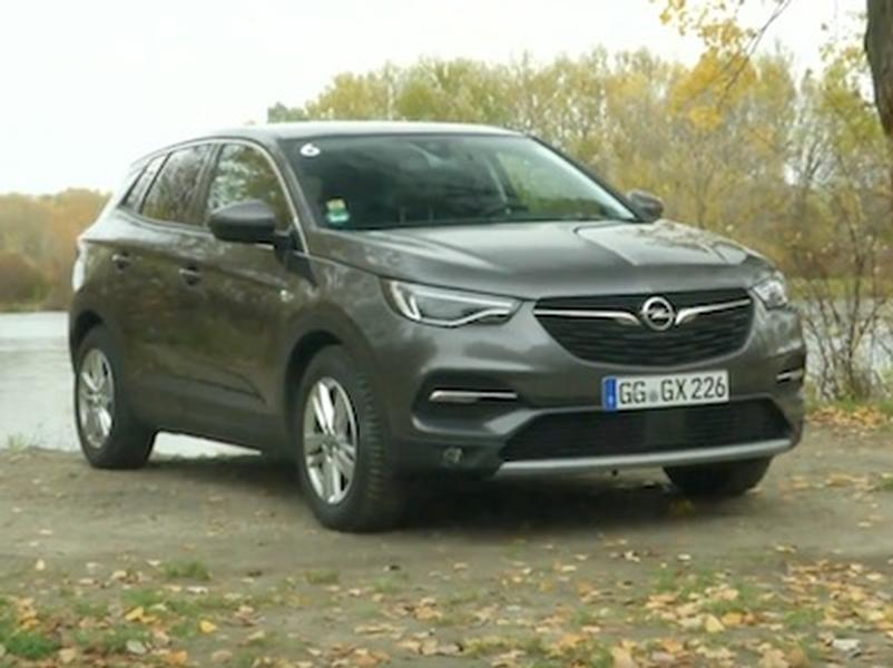 Video test Opel Grandland X 1.6D