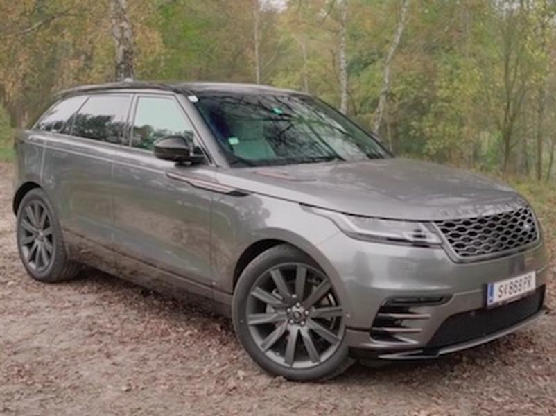 Video test Range Rover Velar D300 SE
