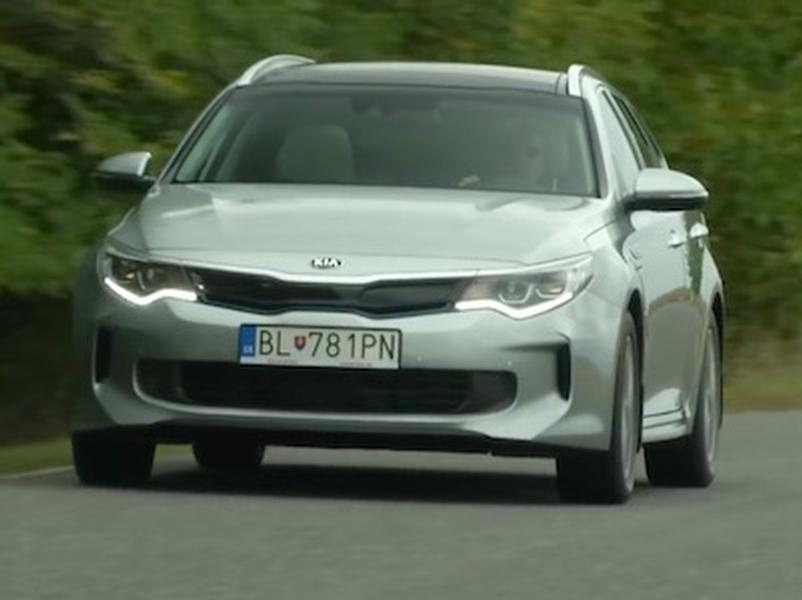 Video test Kia Optima Sportswagon PHEV