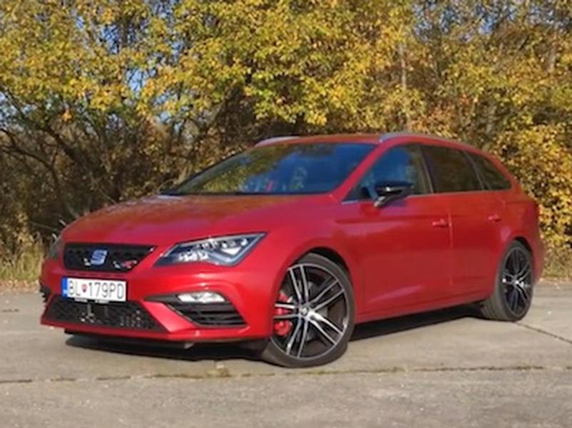 Video test Seat Leon ST Cupra 300 4Drive
