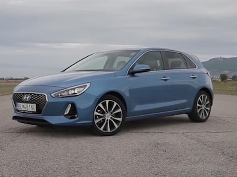Video test Hyundai i30 1,6 CRDi