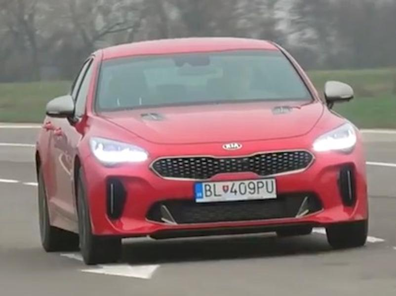 Test KIA Stinger GT