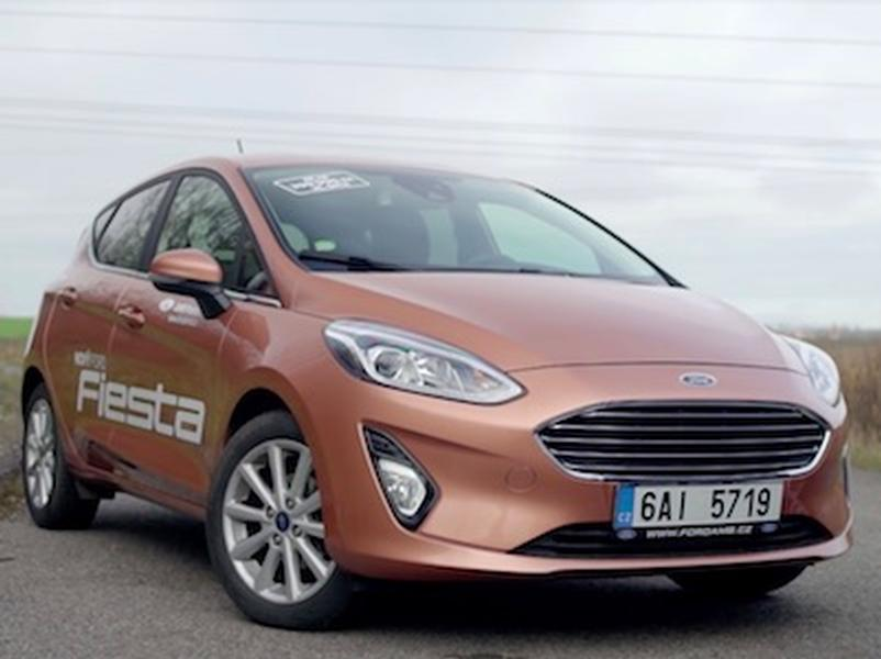 Test Ford Fiesta (2018) vs. Ford Fiesta (1982)